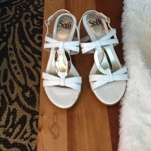 Sofft women's size 6 wedges